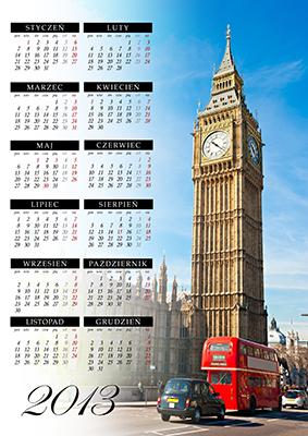 Kalendarze zaprojektowane przez Quantum Press